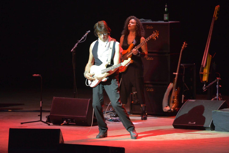 Jeff Beck and Rhonda Smith