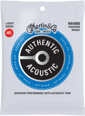 Martin Guitars Authentic Acoustic SP Bass Strings