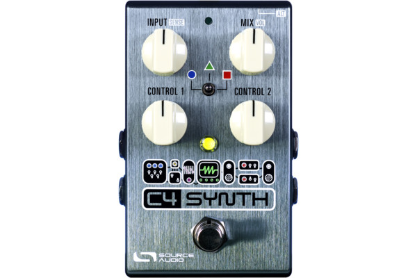 Source Audio Introduces the C4 Synth Pedal