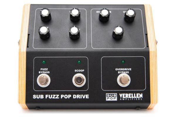 Verellen Amps and Sub Pop Unveil the Sub Fuzz Pop Drive Pedal