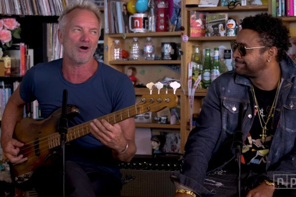Sting And Shaggy: Tiny Desk Concert