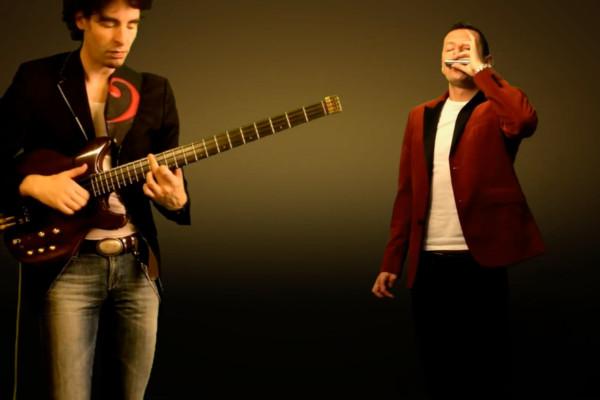 """Karl Clews & Maciek Zaworonek: """"Isn't She Lovely"""" (Duet for Bass & Harmonica)"""