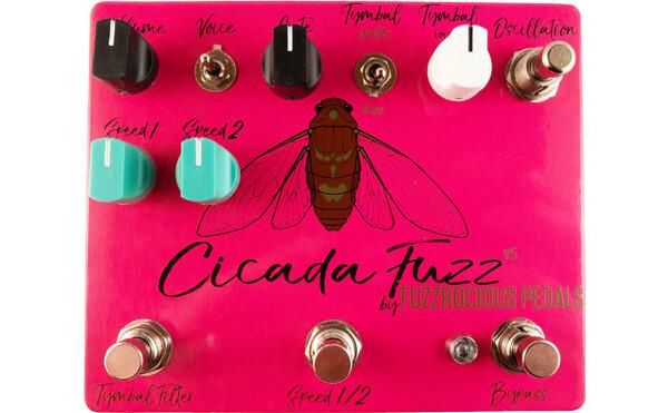 Fuzzrocious Pedals Announces Cicada Fuzz V5 Pedal
