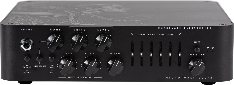 Darkglass Electronics Microtubes 900 v2 Bass Amp Euryale Front