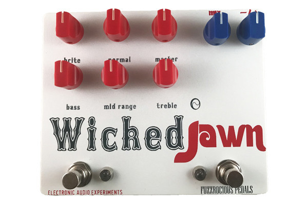 Fuzzrocious Pedals and Electronic Audio Experiments Release Wicked Jawn Pedal