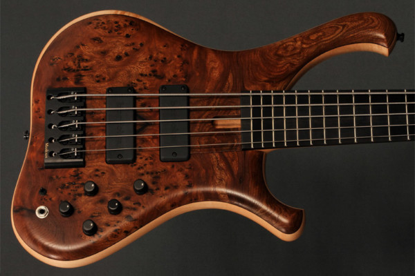 Marleaux Consat Custom Bass: Detailed. Strongly Voiced. Exotic.