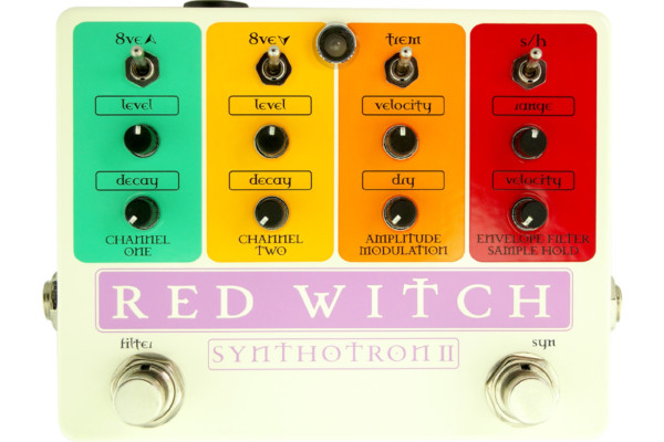 Red Witch Introduces the Synthotron II Synth Pedal