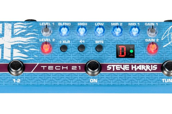 Tech 21 Unveils the Steve Harris SH1 Signature SansAmp