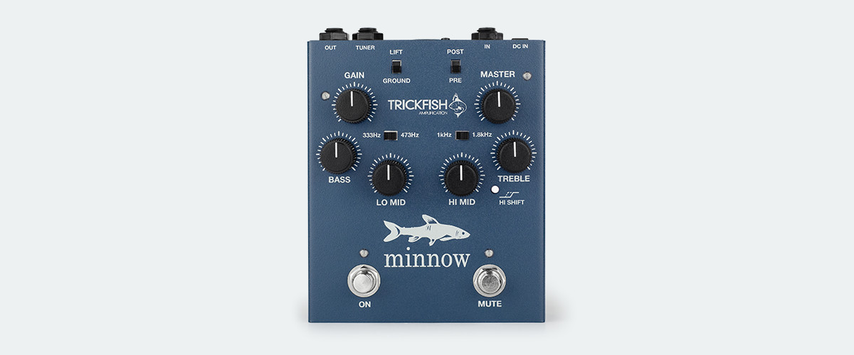 Trickfish Amplification Minnow Bass Preamp Pedal