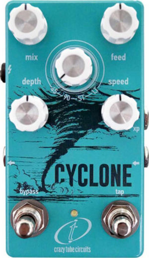 Crazy Tube Circuits Cyclone Phaser Pedal