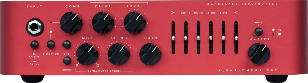 """Darkglass Electronics Alpha·Omega 900 """"Centurion"""" Bass Amp"""