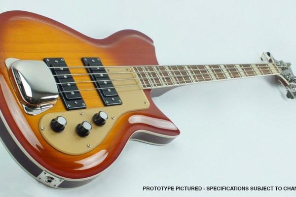 Eastwood Guitars Unveils the Rivolta Combinata Bass VII