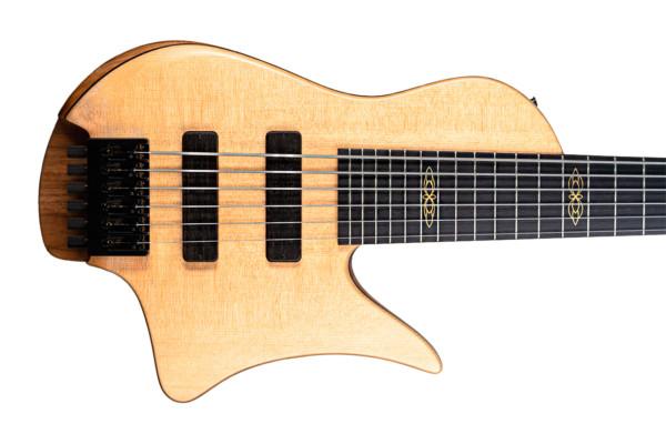 Fodera Unveils New Masterbuilt Bass, The Crescent