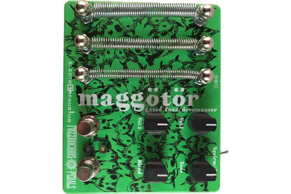 Fuzzrocious and Electro-Faustus Collaborate for Maggotor Pedal