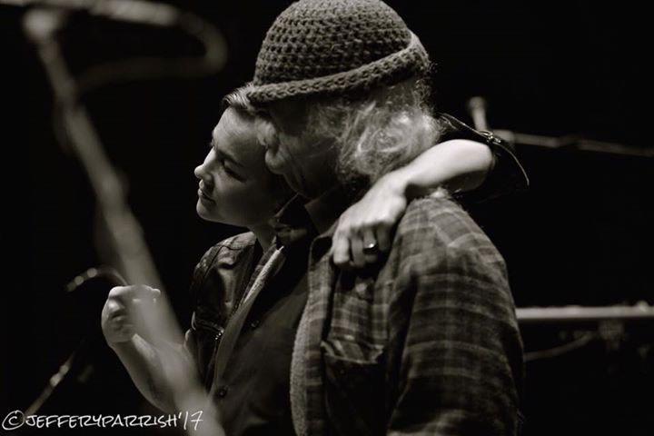 Mai Agan with David Crosby