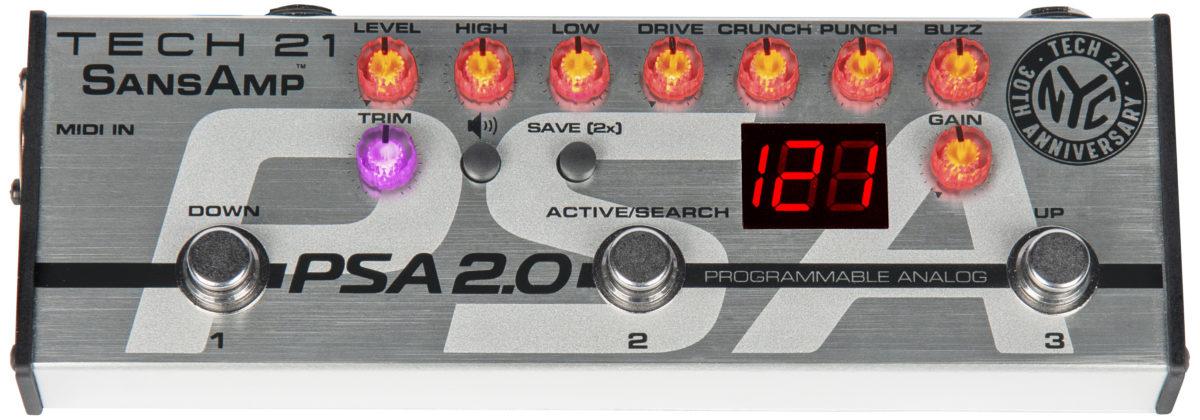 Tech 21 PSA 2.0 Programmable Pedal