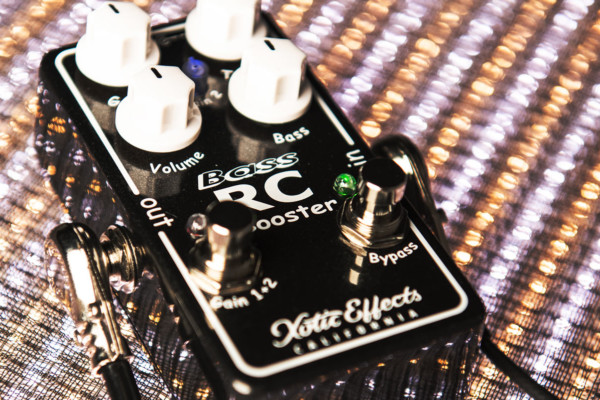 Xotic Announces Bass RC Booster V2 Pedal