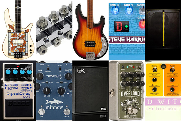 Bass Gear Roundup: The Top Gear Stories in October 2019
