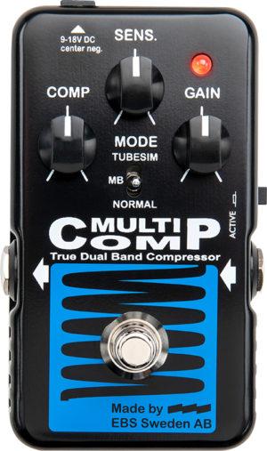 EBS MultiComp Blue Label Pedal