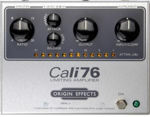 Origin Effects Cali76-TX and Cali76-TX-L Compressor Reissue Pedal