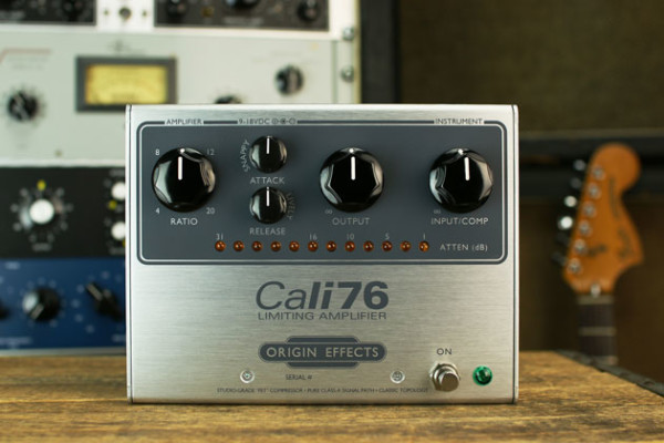 Origin Effects Announces Cali76-TX Compressor Reissue Pedal