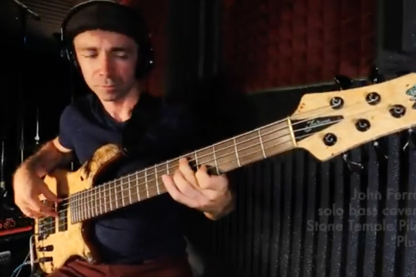 """John Ferrara: Solo Bass Arrangement of """"Plush"""""""