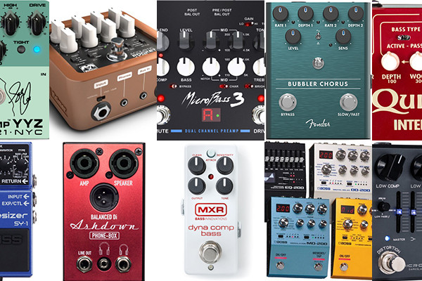 Best of 2019: The Top 10 Reader Favorite Bass Pedals & Effects