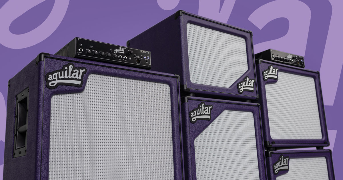 Aguilar Amplification Royal Purple 2020 Bass Cabinets