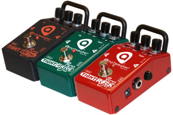 Alpha Distribution Acquires Amptweaker Pedals