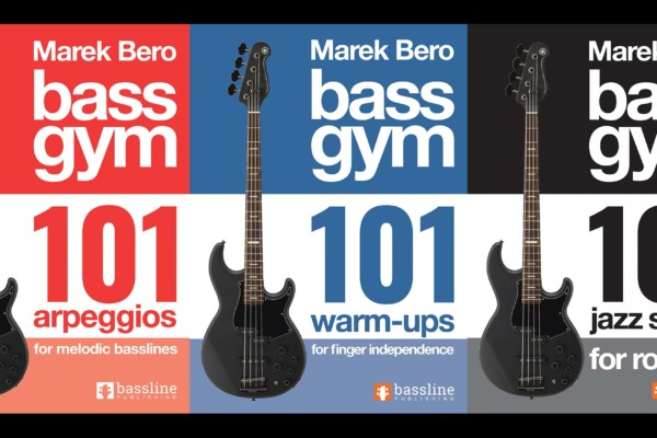 Marek Bero Publishes Bass Gym 101 Instructional Books