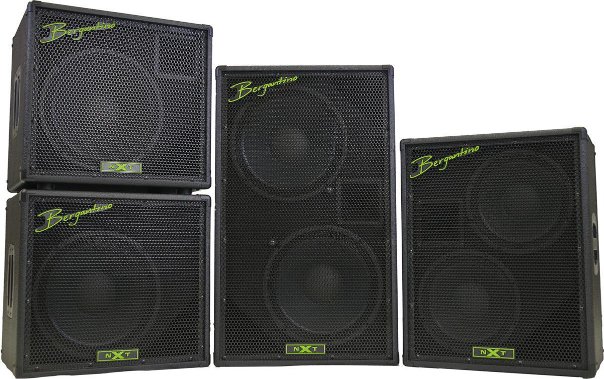 Bergantino Audio NXT Bass Cabinet Series