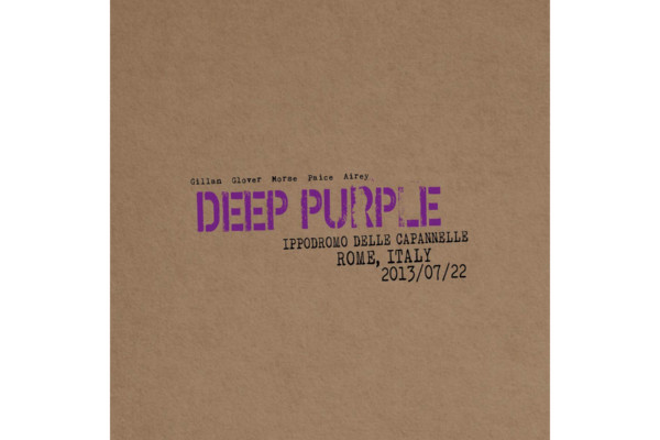 """Deep Purple Releases """"Live in Rome 2013"""""""