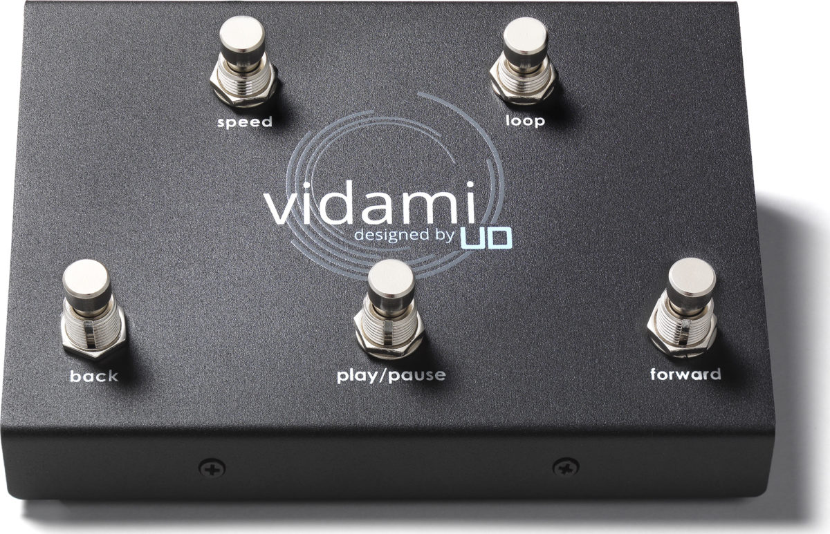 Utility Design Vidami Online Video Foot Controller