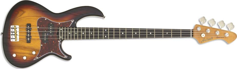 Aria Pro II 313-MK2 Detroit Bass Burst 4-string