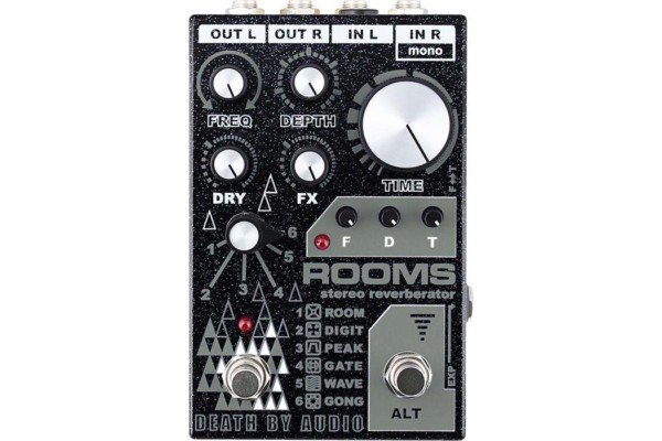 Death By Audio Announces the ROOMS Stereo Reverberator