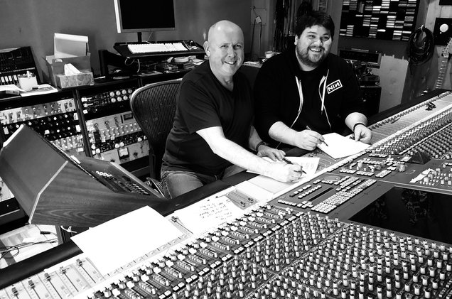 Paul Woolnough and Wolfgang Van Halen