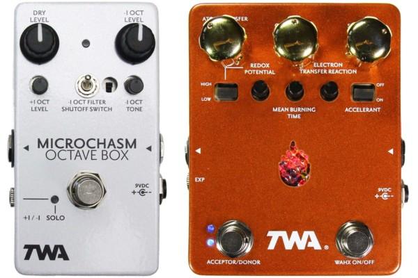 TWA Introduces Microchasm Octave Box and the Wahxidizer Envelope-Controlled Fuzz Pedals