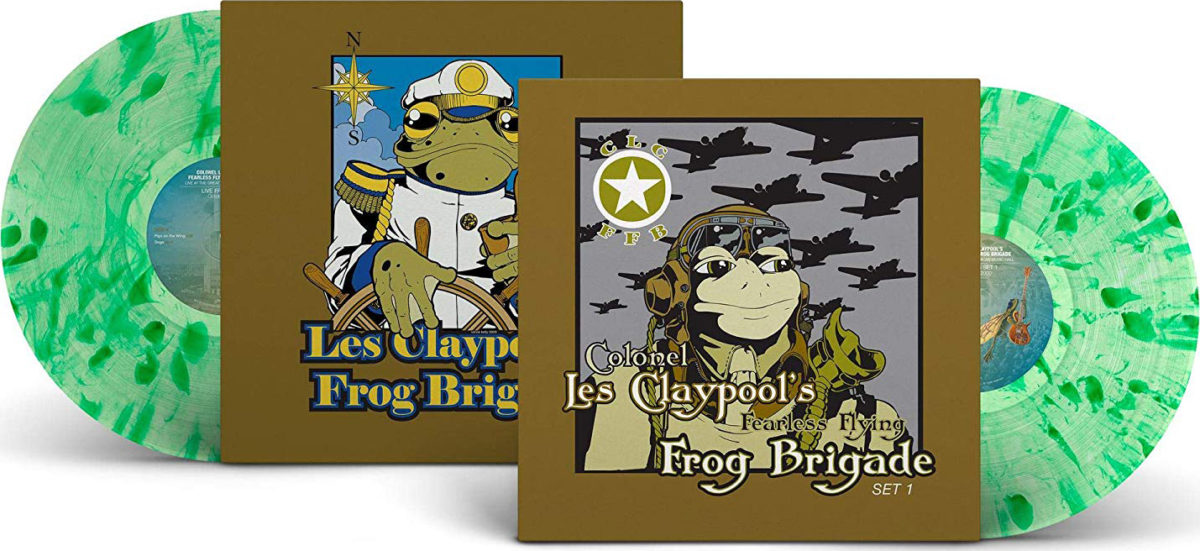 Les Claypool's Fearless Flying Frog Brigade: Live Frogs Sets 1 & 2
