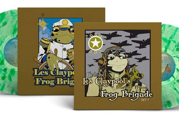 """Les Claypool's Fearless Flying Frog Brigade's """"Live Frogs"""" Reissued on Vinyl"""