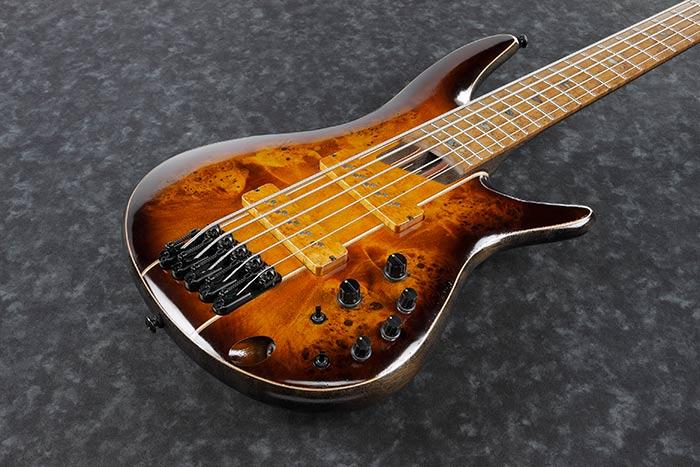 Ibanez Premium SR5PBLTD Bass Guitar Dragon Eye Burst Low Gloss