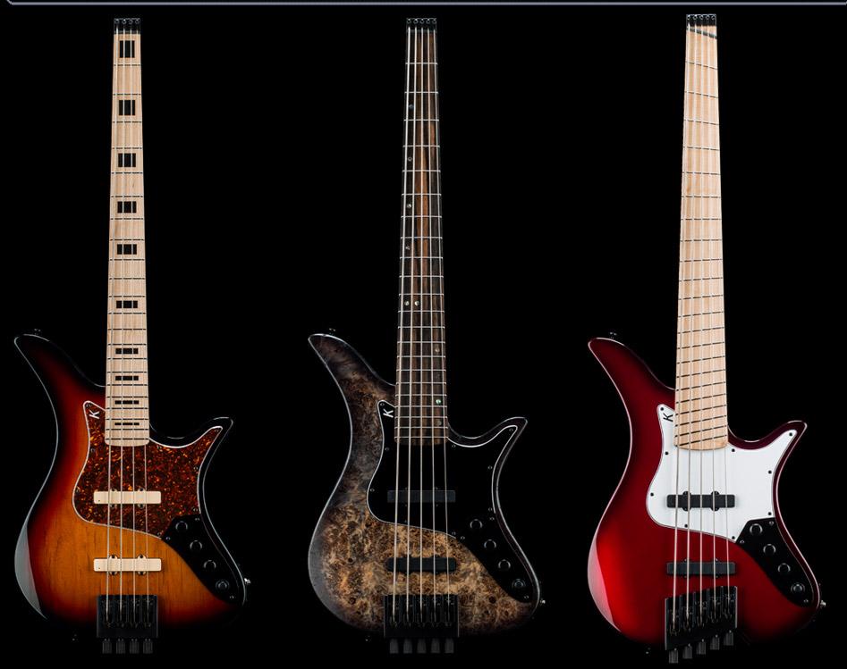 Kiesel Guitars Thanos Basses