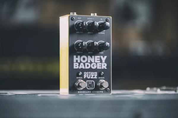 Redbeard Effects Announces the Honey Badger Octave Fuzz Pedal