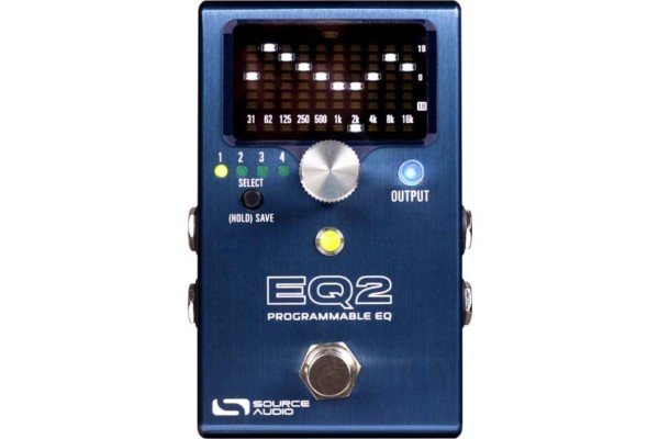 Source Audio Unveils the EQ2 Programmable Equalizer Pedal