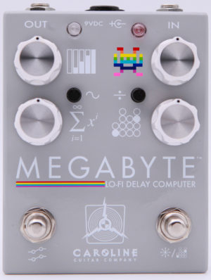 Caroline Guitar Co Megabyte Delay Pedal