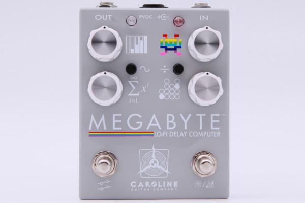Caroline Guitar Company Releases the Megabyte Delay Pedal