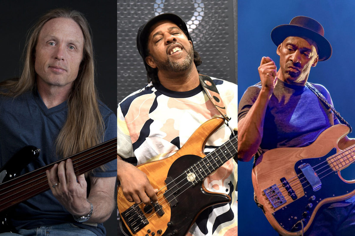 Steve Bailey, Victor Wooten, and Marcus Miller