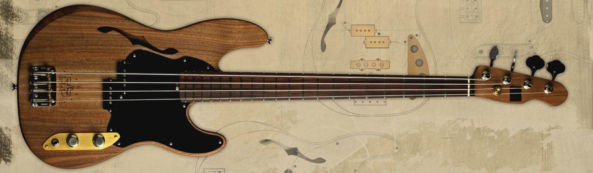 Adil Sabit Guitars P-Bass