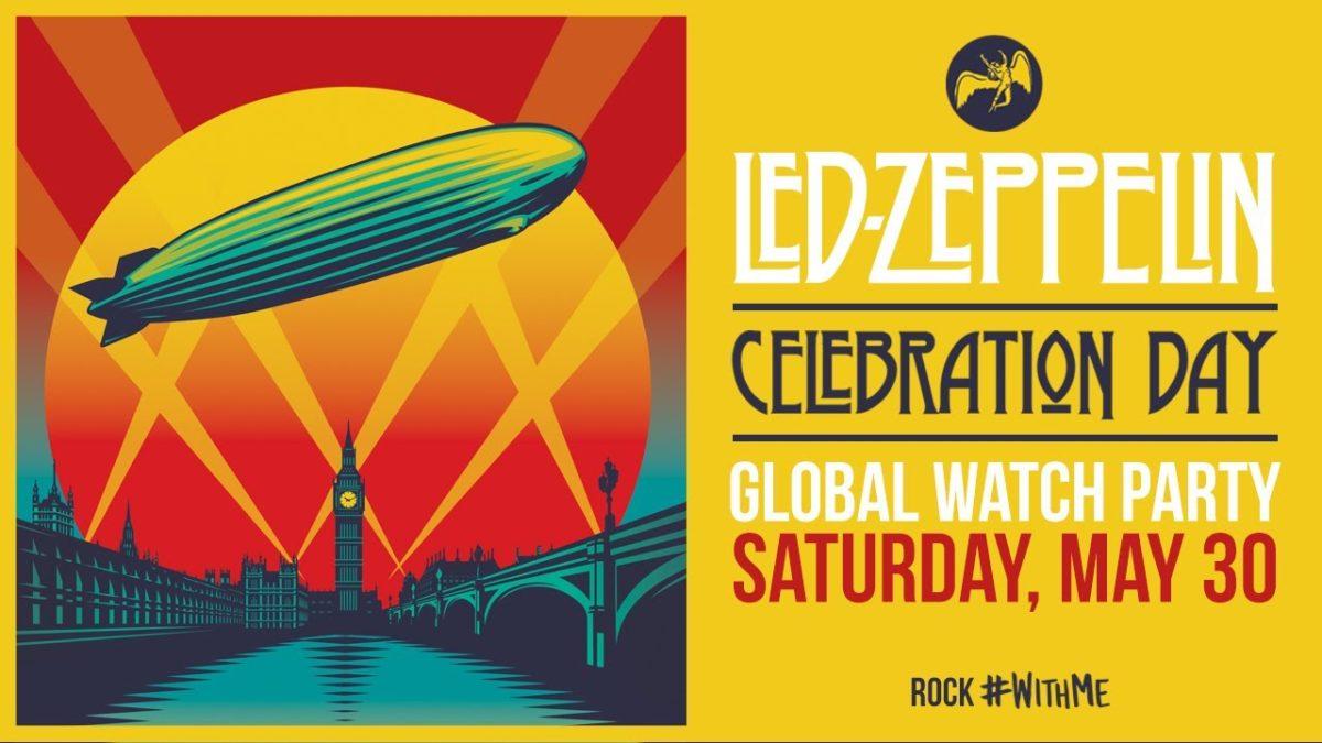 Led Zeppelin Celebration Day Watch Party