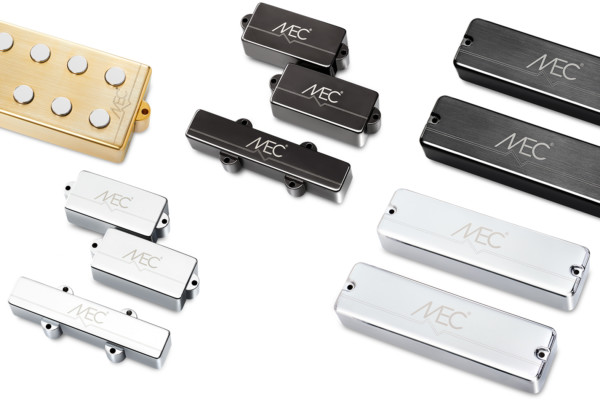 MEC Pickups With Brushed Metal Housings Now Available