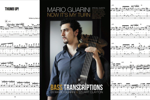 """Mario Guarini Publishes """"Now It's My Turn"""" Bass Transcription Book"""
